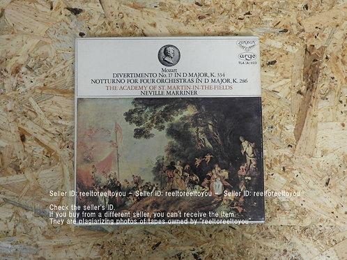 モーツァルト : 喜遊曲 第17番 ニ長調 K.334 / ネヴィル・マリナー