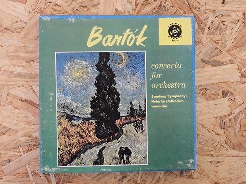 <再生確認済み>「 BARTOK : CONCERTO FOR ORCHESTRA - HOLLREISER 」 オープンリール 7号 ミュージック テープ