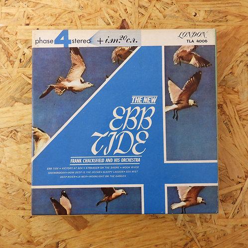 <再生確認済み>「 ひき潮 / フランク・チャックスフィールド管弦楽団 」 オープンリール 7号 ミュージック テープ