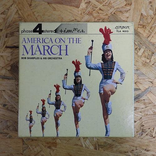 <再生確認済み>「 アメリカン・マーチ・スペクタクラー 」 オープンリール 7号 ミュージック テープ
