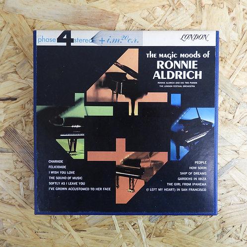 <再生確認済み>「 MAGIC MOODS OF RONNIE ALDRICH 」 オープンリール 7号 ミュージック テープ