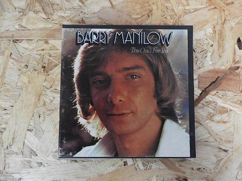 <再生確認済み>「 BARRY MANILOW / THIS ONE'S FOR YOU 」 オープンリール 7号 ミュージック テープ
