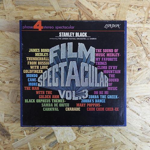 <再生確認済み>「 FILM SPECTACULAR / STNLEY BLACK HIS ORCHESTRA 」 オープンリール 7号 ミュージック テープ