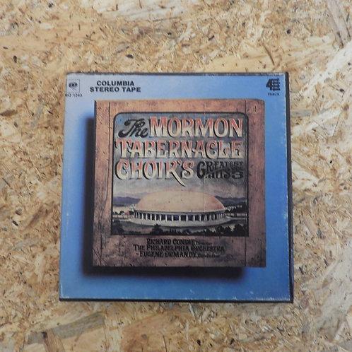 <再生確認済み>「 THE MORMON TABERNACLE CHOIR'S GREATEST HITS, VOL.3 」 オープンリール 7号 ミュージック