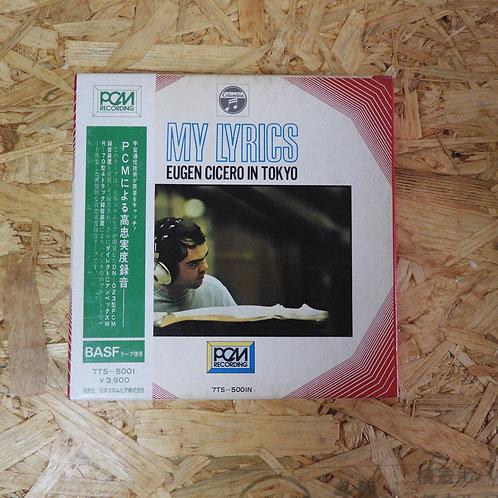 <再生確認済み>「 マイ・リリックス オイゲン・キケロ・イン・トーキョー 」 オープンリール 7号 ミュージック テープ