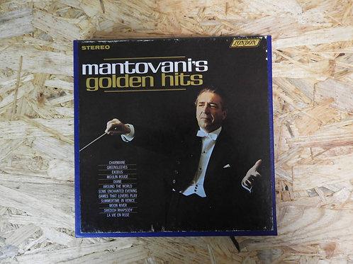 <再生確認済み>「 MANTOVANI'S GOLDEN HITS 」 マントヴァーニ オープンリール 7号 ミュージック テープ
