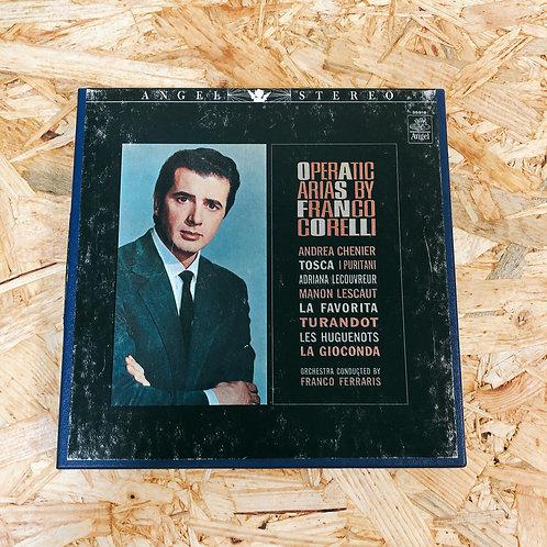 <再生確認済み>「 OPERATIC ARIAS BY FRANCO CORELLI 」 オープンリール 7号 ミュージック テープ