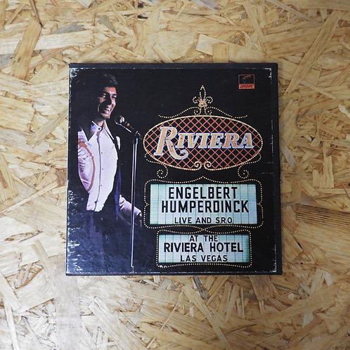 <再生確認済み>「 ENGELBERT HUMPERDINCK LIVE AT THE RIVIERA , LAS VEGAS 」 オープンリール 7号 ミュー