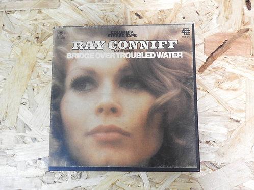 <再生確認済み>「 RAY CONNIFF / BRIDGE OVER TROUBLED WATER 」 オープンリール 7号 ミュージック テープ