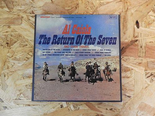 <再生確認済み>「 AL CAIOLA / RETURN OF THE SEVEN 」 オープンリール 7号 ミュージック テープ