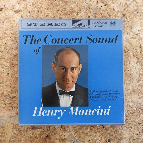 <再生確認済み>「 THE CONCERT SOUND OF HENRY MANCINI 」 オープンリール 7号 ミュージック テープ