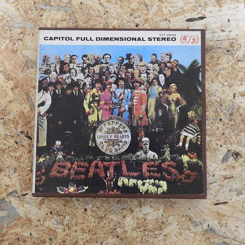 <再生確認済み>「 SGT. PEPPER'S LONELY HEARTS CLUB BAND / THE BEATLES 」 ビートルズ オープンリール 7号