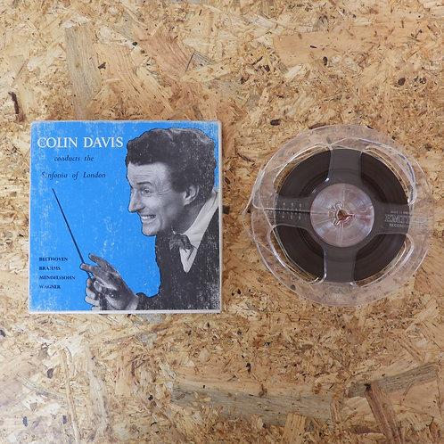 <再生確認済み>「 COLIN DAIVIS CONDUCTS THE SINFONIA OF LONDON 」 オープンリール 5号 ミュージック テープ M