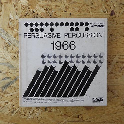 <再生確認済み>「 PERSUASIVE PERCUSSION 1966 」 オープンリール 7号 ミュージック テープ