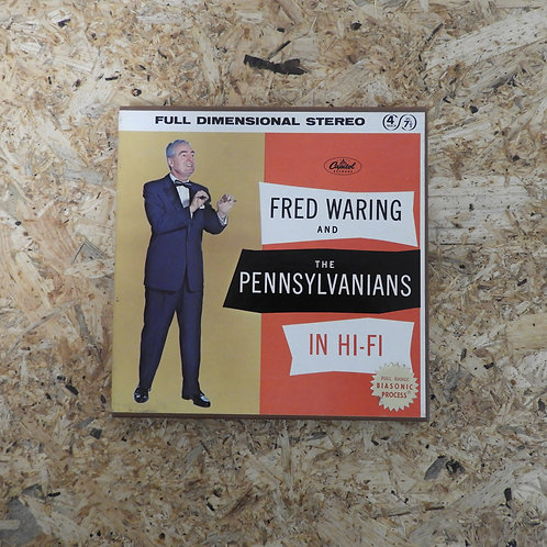 <再生確認済み>「 FRED WARING AND THE PENNSYLVANIANS IN HI-FI 」 オープンリール 7号 ミュージック テープ