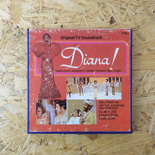 <再生確認済み>「 DIANA! / ORIGINAL TV SOUNDTRACK 」 オープンリール 7号 ミュージック テープ