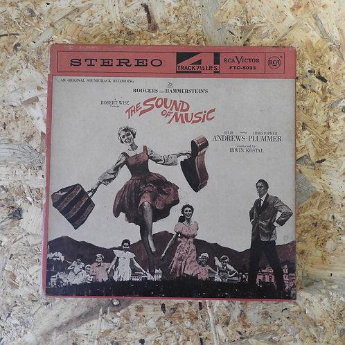 <再生確認済み>「 THE SOUND OF MUSIC / ANDREWS : PLUMMER 」 オープンリール 7号 ミュージック テープ