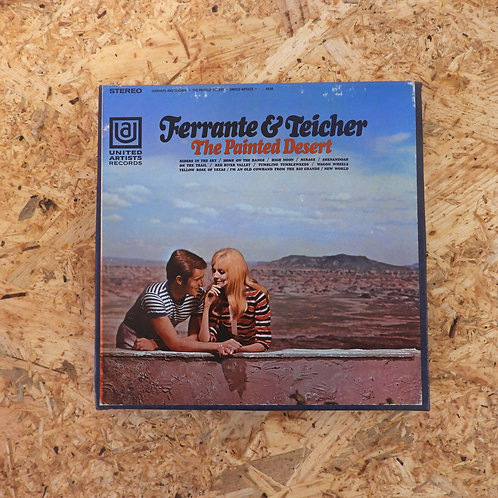 <再生確認済み>「 FERRANTE & TEICHER / THE PAINTED DESERT 」 オープンリール 7号 ミュージック テープ