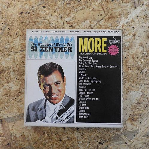 <再生確認済み>「 THE WONDERFUL WORLD OF : SI ZENTNER 」 オープンリール 7号 ミュージック テープ