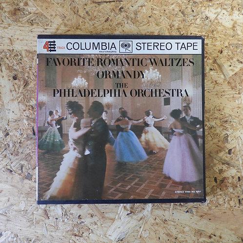 <再生確認済み>「 FAVORITE ROMANTIC WATALTZES / ORMANDY THE PHLADELPHIA  」 オープンリール 7号テープ