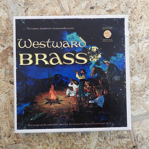 <再生確認済み>「 WESTWARD BRASS 」 オープンリール 7号 ミュージック テープ