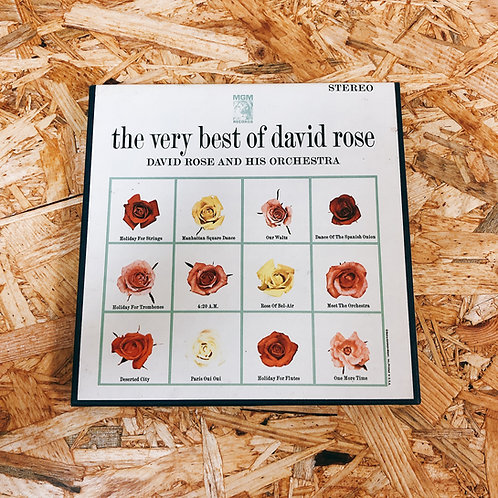 <再生確認済み>「 THE VERY BEST OF DAVID ROSE 」 オープンリール 7号 ミュージック テープ