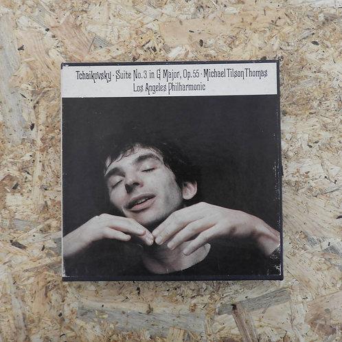 <再生確認済み>「 TCHAIKOVSKY : SUITE NO.3 / MICHAEL TILSON THOMAS 」 オープンリール 7号 ミュージック テ