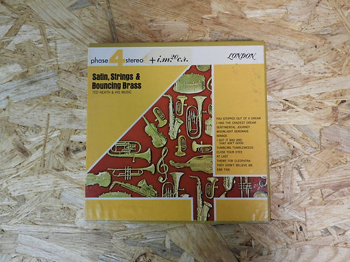 <再生確認済み>「 SATIN, STRINGS & BOUNCING BRASS / TED HEATH & HIS MUSIC 」 オープンリール 7号 ミ