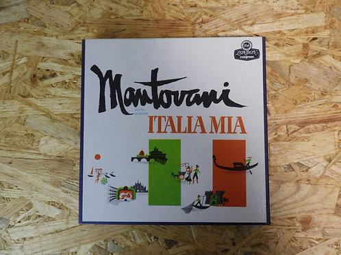 <再生確認済み>「 ITALIA / MANTOVANI AND HIS ORCHESTRA 」 マントヴァーニ オープンリール 7号 ミュージック テープ