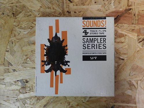 <再生確認済み>「 SOUNDS! 」 オープンリール 7号 ミュージック テープ