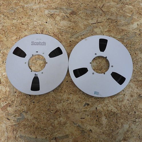 <状態未チェック> オープンリール テープ 10号 メタルリール 2枚セット! 204