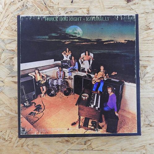 <再生確認済み>「 THREE DOG NIGHT / NATURALLY 」 オープンリール 7号 ミュージック テープ