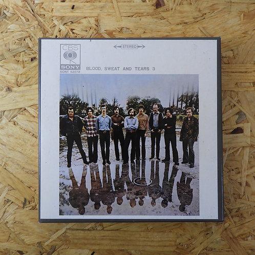 <再生確認済み>「 ブラッド、スエット・アンド・ティアーズ 3 」 オープンリール 7号 ミュージック テープ