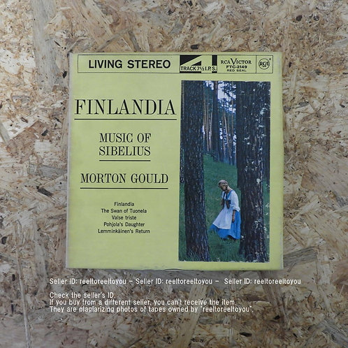 SIBELIUS : FINLANDIA / MORTON GOULD