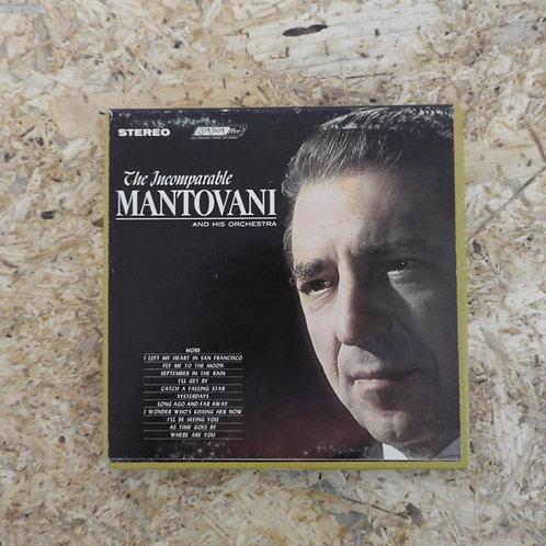 <再生確認済み>「 THE INCOMPARABLE MANTOVANI AND HIS ORCHESTRA 」 マントヴァーニ オープンリール 7号 ミュージ