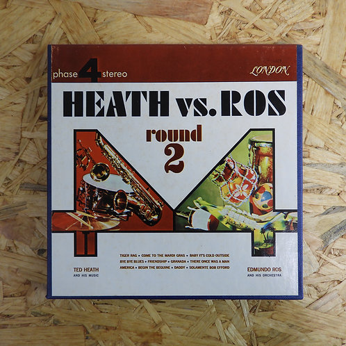 <再生確認済み>「 HEATH VS ROS ROUND TWO 」 オープンリール 7号 ミュージック テープ