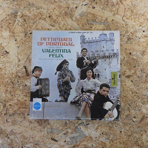 <再生確認済み>「 PETTICOATS OF PORTUGAL / VALENTINA FELIX 」 オープンリール 7号 ミュージック テープ