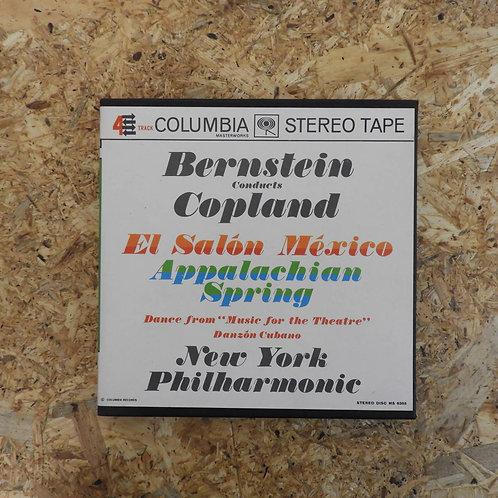 <再生確認済み>「 BERNSTEIN CONDUCTS COPLAND NEW YORK PHILHARMONIC 」 オープンリール 7号 ミュージック テ