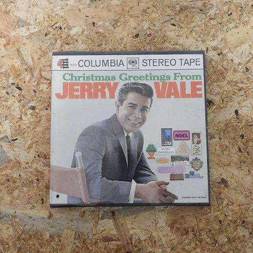 <未開封!>「 CHRISTMAS GREETINGS FROM JERRY VALE 」 オープンリール 7号 ミュージック テープ