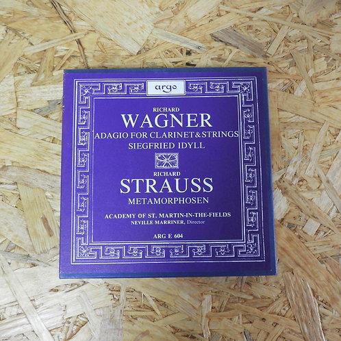 <再生確認済み>「 WAGNER : ADAGIO, SIEGFRIED IDYLL - STRAUSS : METAMORPHOSEN / NEVILLE M