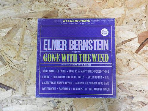 <再生確認済み>「 ELMER BERNSTEIN CONDUCTS GONE WITH THE WIND 」 オープンリール 7号 ミュージック テープ