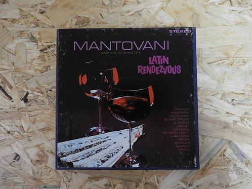 <再生確認済み>「 LATIN RENDEZVOUS / MANTOVANI 」 マントヴァーニ オープンリール 7号 ミュージック テープ