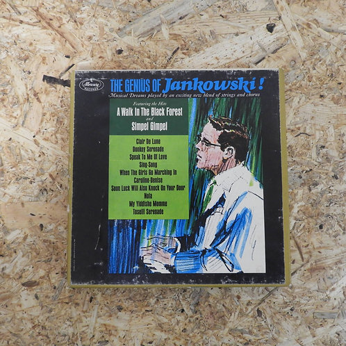 <再生確認済み>「 THE GENIUS OF JANKOWSKI ! 」 オープンリール 7号 ミュージック テープ
