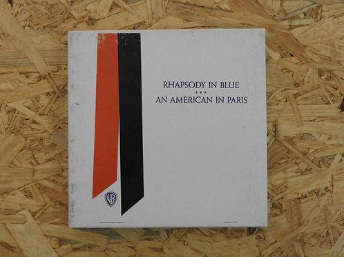 <再生確認済み>「 RAHAPODY IN BLUE / AMERICAN IN PARIS 」 オープンリール 7号 ミュージック テープ