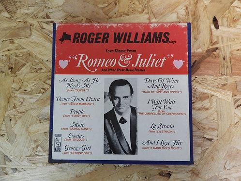 <再生確認済み>「 ROGER WILLIAMS PLAYS GREAT MOVIE THEMES 」 オープンリール 7号 ミュージック テープ