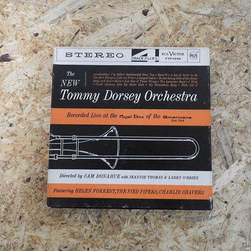 <再生確認済み>「 THE NEW TOMMY DORSEY ORCHESTRA 」 オープンリール 7号 ミュージック テープ