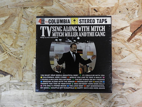 <再生確認済み>「 TV SING ALONG WITH MITCH / MITCH MILLER AND THE GANG 」 オープンリール 7号 ミュージ