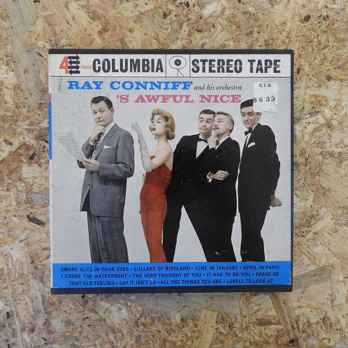 <再生確認済み>「 RAY CONNIFF 'S AWFUL NICE 」 オープンリール 7号 ミュージック テープ
