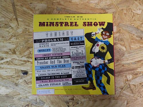 <再生確認済み>「 AN AUTHENTIC MINSTREL SHOW 」 オープンリール 7号 ミュージック テープ