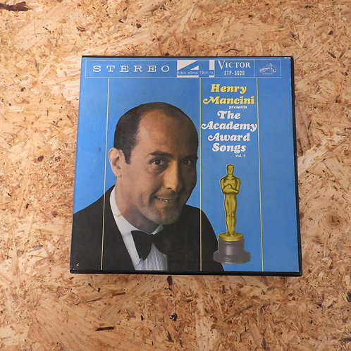 <再生確認済み>「 HENRY MANCINI PRESENTS THE ACADEMY AWARD SONGS,VOL.1 」 オープンリール 7号 ミュージ